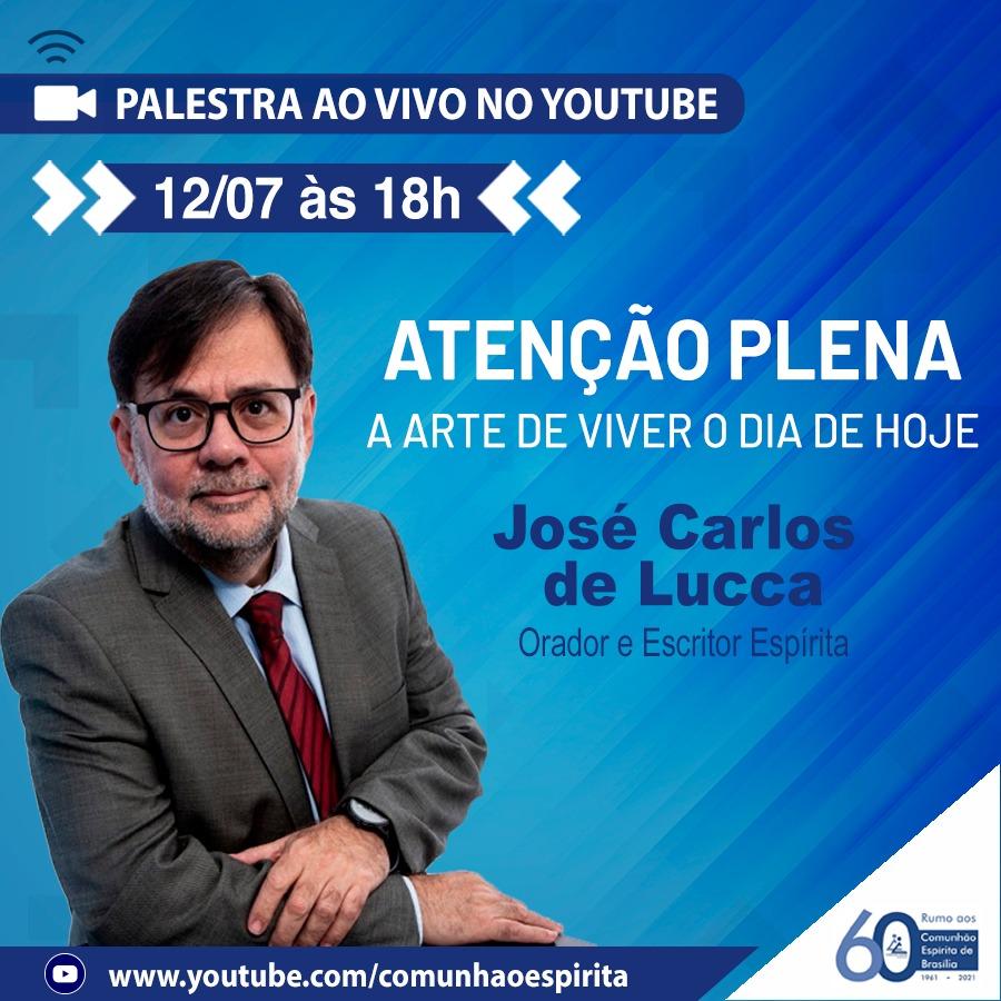 Palesta pelo YouTube com o nosso delegado adjunto de São Paulo.