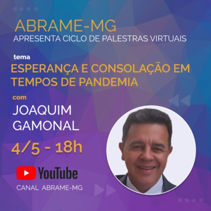 Palestras Virtuais da ABRAME-MG